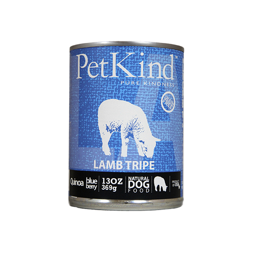 Petkind Lamb Tripe Canned Dog Food