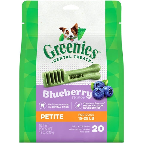 Greenies Dental Chews Bursting Blueberry for Dogs