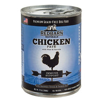 Redbarn Naturals Chicken Pate Immune Support Canned Dog Food