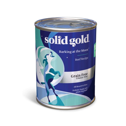 Solid Gold Grain Free Barking at the Moon Canned Dog Food