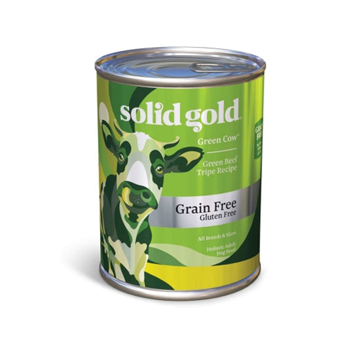 Solid Gold Grain Free Green Cow Beef Tripe Canned Dog Food