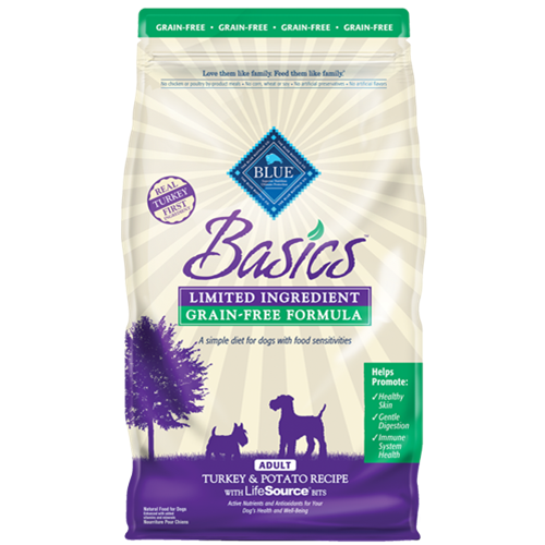 Blue Buffalo Basics Grain Free Turkey & Potato Adult Dry Dog Food