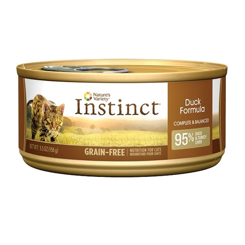 Nature's Variety Instinct Duck Formula Canned Cat Food