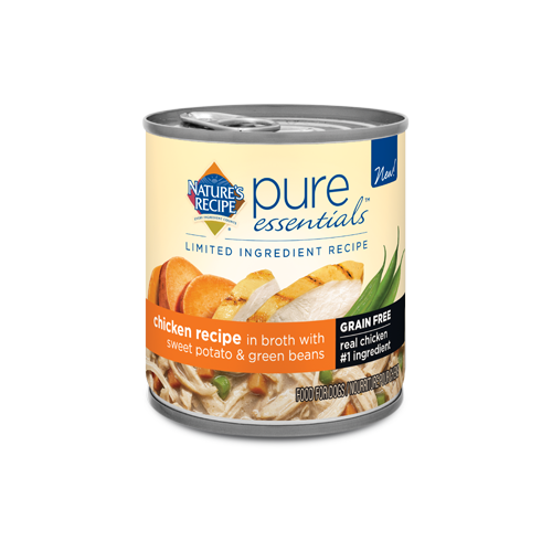 Nature's Recipe Canned Pure Essentials Grain Free Chicken Recipe in Broth