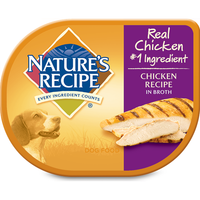 Nature's Recipe Wet Dog Food Chicken Recipe in Broth