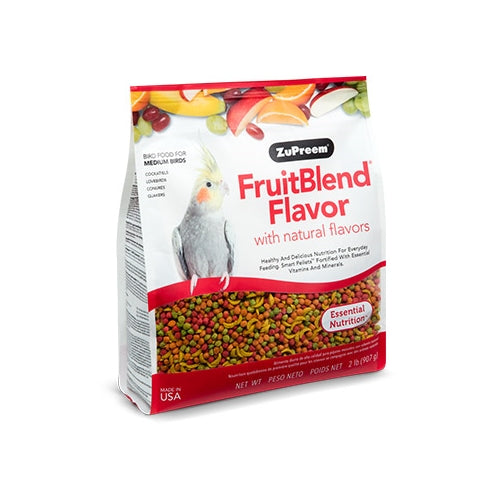 ZuPreem Fruit Blend Med Bird Food