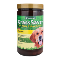 NaturVet GrassSaver Plus Enzymes Wafers for Dogs PFX NAN