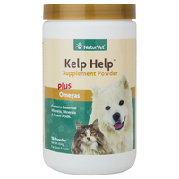 NaturVet Kelp Help Supplement Powder for Dogs and Cats PFX
