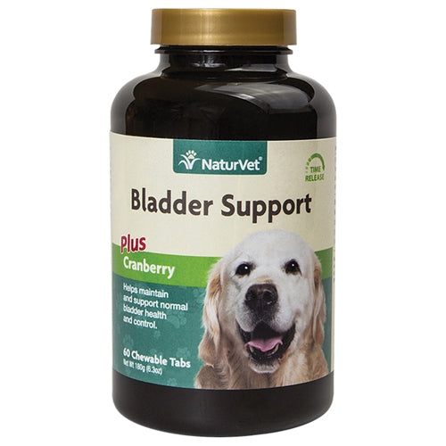 NaturVet Bladder Support Plus Cranberry Tabs for Dogs PFX NAN