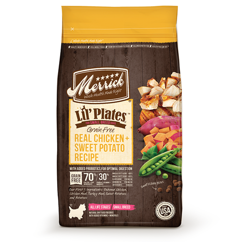 Merrick Lil Plates Grain Free Chicken & Sweet Potatoes Recipe Dry Dog Food