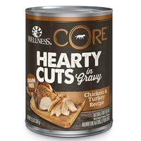 Wellness CORE Canned Hearty Cuts in Gravy Chicken & Turkey