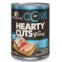 Wellness CORE Canned Hearty Cuts in Gravy Whitefish & Salmon