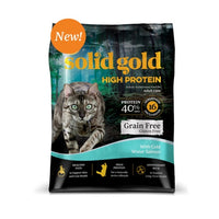 Solid Gold Grain Free HIGH PROTEIN Salmon Dry Cat Food