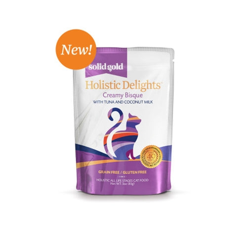 Solid Gold Holistic Delights Tuna & Coconut Milk Wet Cat Food