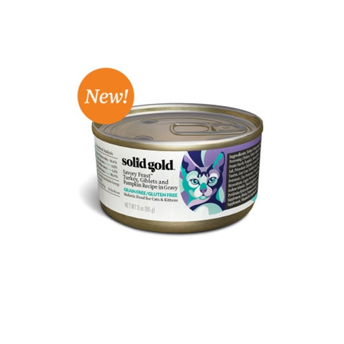 Solid Gold Savory Feast Canned Cat Food