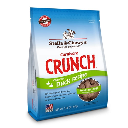 Stella & Chewy's Carnivore Crunch Duck Recipe Dog Treats