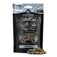 Vital Essentials Freeze Dried Rabbit Bites Treats for Cats