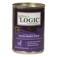 Nature's Logic Canine Rabbit Feast Canned Food