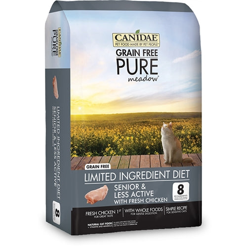 CANIDAE Grain Free PURE meadow Senior Dry Cat Food