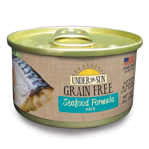 Under The Sun Grain Free Seafood Kitten & Adult Wet Food