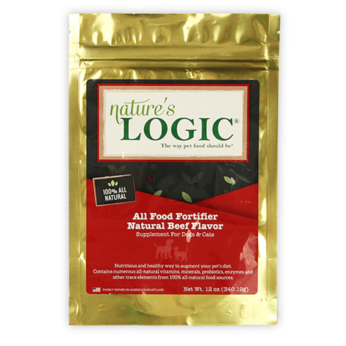 Nature's Logic Canine and Feline Beef All Food Fortifier Supplement