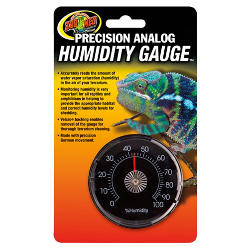 ZooMed Precision Analog Humidity Gauge