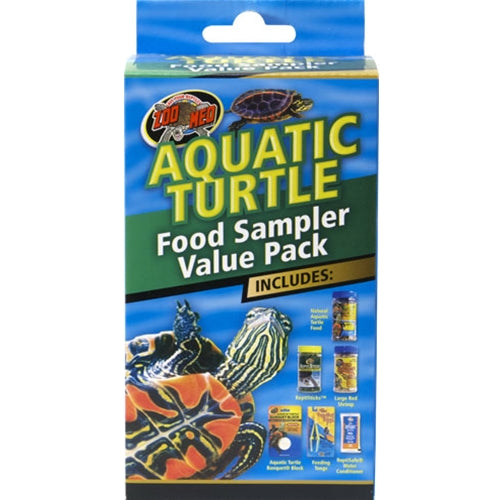 ZooMed Aquatic Turtle Food Sampler