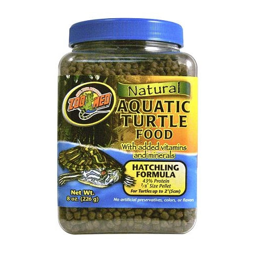 ZooMed Natural Aquatic Turtle Food - Hatchling Formula
