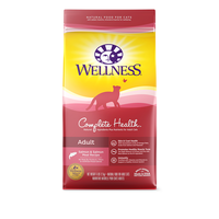 Wellness Complete Health Salmon, Salmon Meal & Deboned Turkey Dry Cat Food