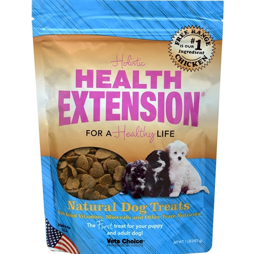 Health Extension Heart Shaped Natural Dog Treats