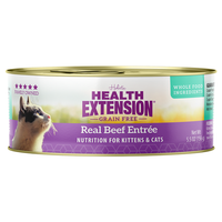 Health Extension Grain Free Real Beef Entree for Cats