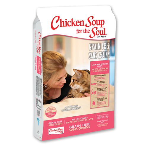 Chicken Soup for the Cat Lover's Soul Salmon & Lentils Limited Ingredient Dry Formula