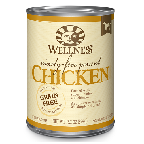Wellness 95% Chicken Canned Dog Food
