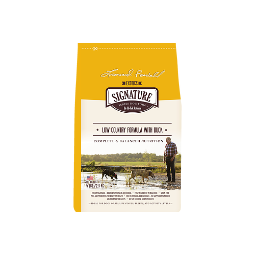Signature Series Grain Free Low Country Formula With Duck for Dogs