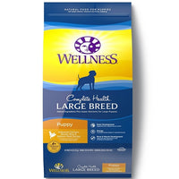Wellness Complete Health Large Breed Puppy Deboned Chicken, Brown Rice & Salmon Meal Dry Dog Food