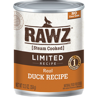 RAWZ Real Duck Recipe Canned Food for Dogs