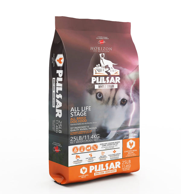 Horizon Pulsar Whole Grain Chicken Formula Dry Dog Food