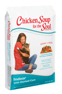 Chicken Soup for the Cat Lover's Soul Indoor & Hairball Dry Formula