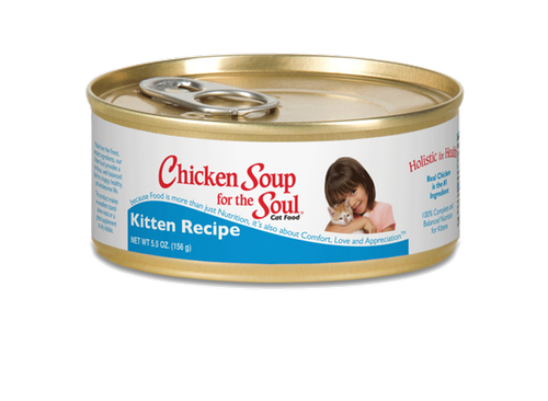 Chicken Soup for the Kitten Lover's Soul Kitten Canned Formula