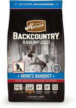 Merrick Grain Free Backcountry Hero's Banquet Recipe Dog Food