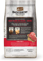 Merrick Backcountry Raw Infused Great Plains Red Recipe with Healthy Grains Dog Food