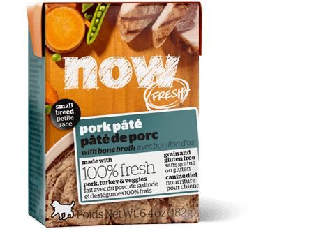 NOW FRESH Grain Free Small Breed Pork Pâté for dogs
