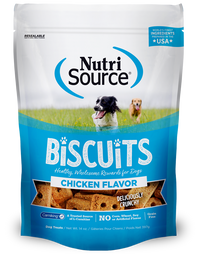 Nutrisource Grain Free Chicken Biscuit Dog Treats