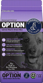 Annamaet Option Formula Dry Dog Food