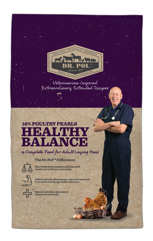 Dr. Pol 16% Poultry Pearls Healthy Balance Layer Feed