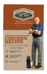 Dr. Pol - High Protein Grain Free Cat & Kitten Food