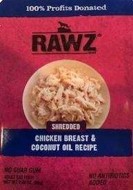 RAWZ® Shredded Chicken Breast & Coconut Oil Recipe