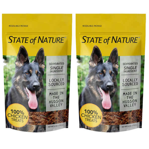 State of Nature Single Ingredient Dehydrated Chicken Treats