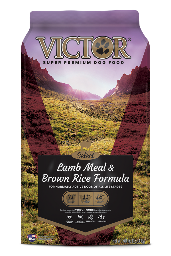 Victor Select Lamb Meal and Brown Rice Dog Food