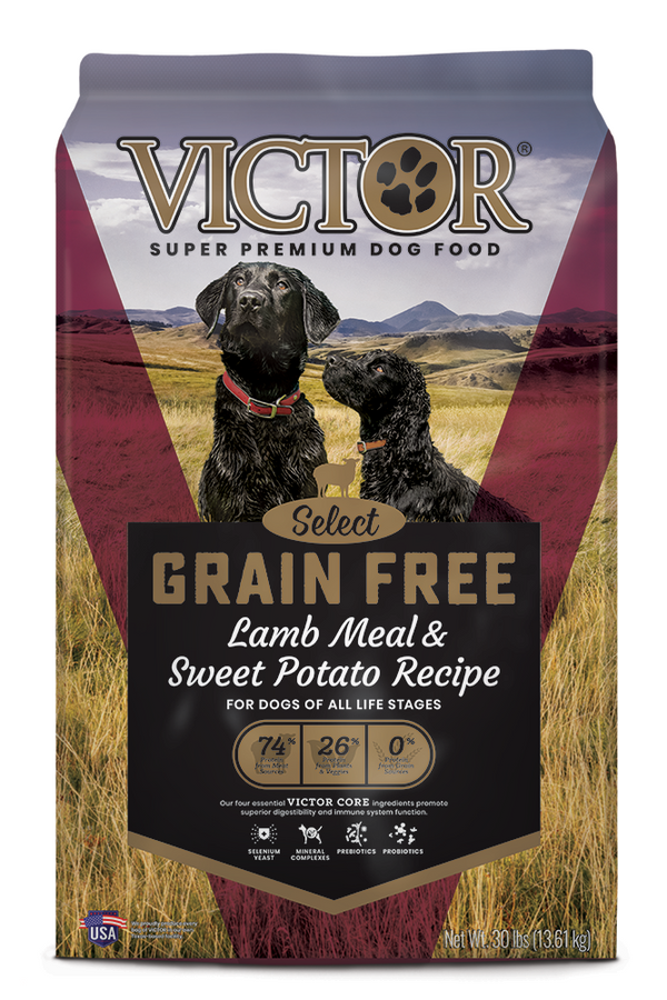 Victor Select Grain Free Lamb Meal and Sweet Potato Dog Food